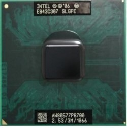 Intel Core 2 Duo P8700 Cache 3mb 2.53ghz Laptop