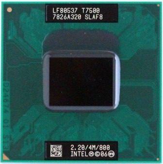 Intel Core 2 Duo T7500 Cache 4mb 2.20GHz Laptop