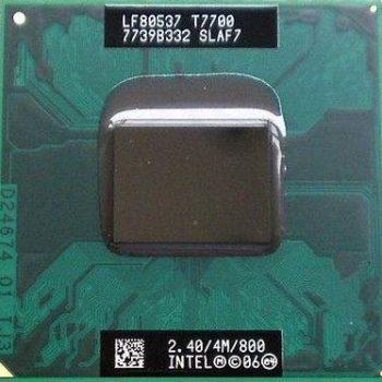 Intel Core 2 Duo T7700 Cache 4mb 2.40ghz 800mhz Fsb Laptop