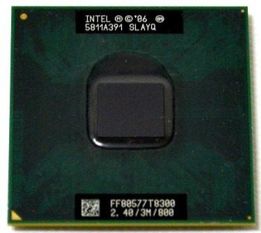 Intel Core 2 Duo T8300 Cache 3mb 2.40ghz 800mhz Fsb Laptop