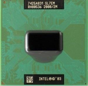 Intel Pentium M 755 Cache 2mb 2.00ghz Fbs 400mhz Laptop