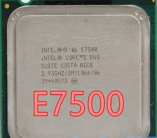 Processador Intel Core 2 Duo E7500 Cache 3mb 2,93ghz Lga775