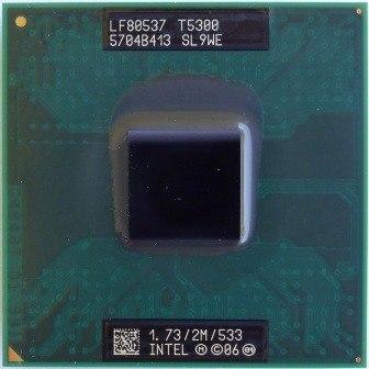 Processador Intel Core 2 Duo T5300 Cache 2mb 1.73ghz Laptop