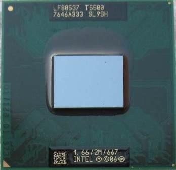 Processador Intel Core 2 Duo T5500 Cache 2mb 1.66ghz Laptop