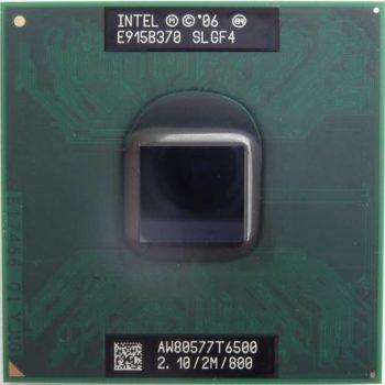Processador Intel Core 2 Duo T6500 Cache 2mb 2.10ghz Laptop