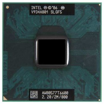 Processador Intel Core 2 Duo T6600 Cache 2mb 2.20ghz Laptop