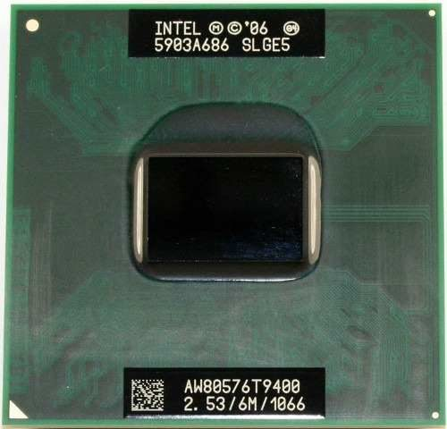 Processador Intel Core 2 Duo T9400 Cache 6mb 2.53ghz Laptop