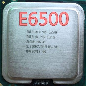 Processador Intel Pentium E6500 Cache 2mb 2.93ghz Lga775