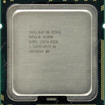 Processador Intel Xeon E5540 Cache 8mb 2.53ghz