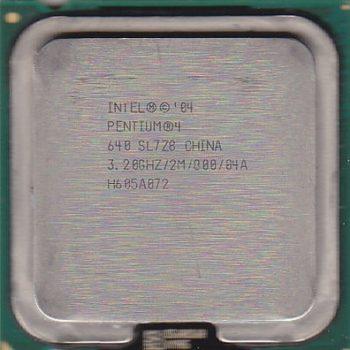 Processador Pentium 4 Ht 640 3.2 Ghz Intel Socket 775