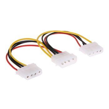 Cabo de Energia IDE Molex Para Dual IDE Molex Y Splitter Atx