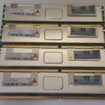Memória Para Servidor DDR2 Pc2-5300 667 MHz HP Ecc