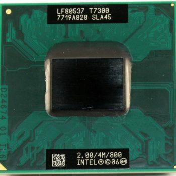 Intel Core 2 Duo T7300 Cache 4mb 2.00ghz Laptop