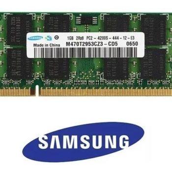 Memória 1gb Notebook Ddr2 533mhz Pc2-4200 Samsung